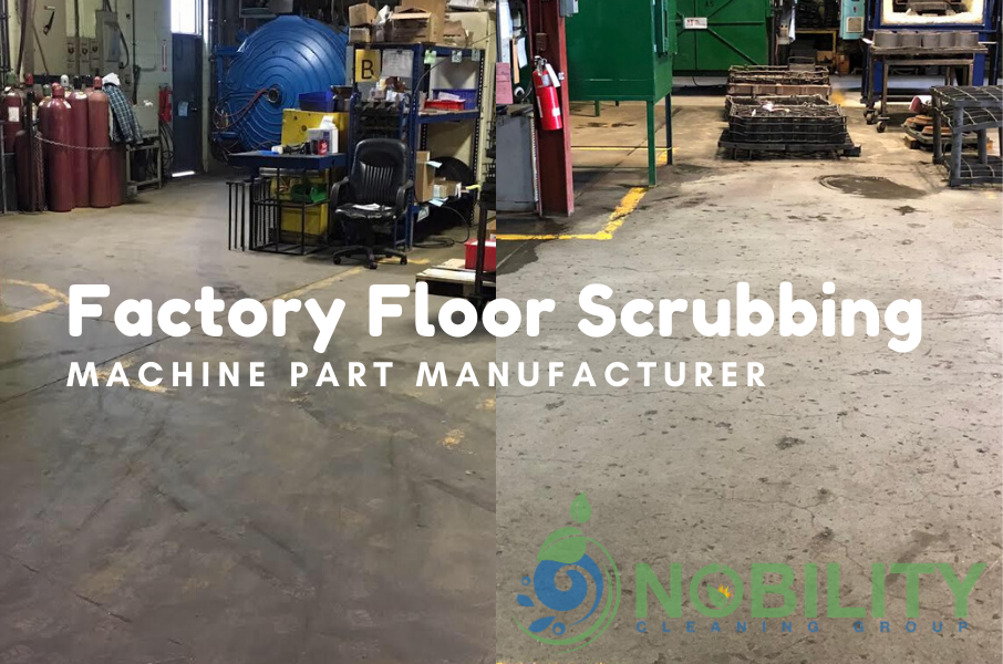 factory floor scrubbing