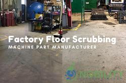 factory floor scrubbing