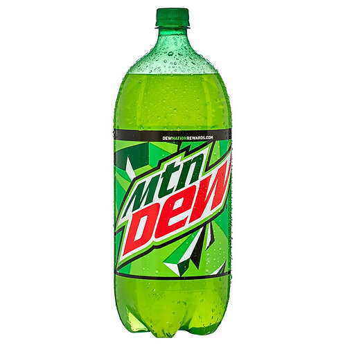 2 Liter Mnt Dew