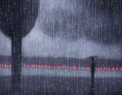 It is in the rain