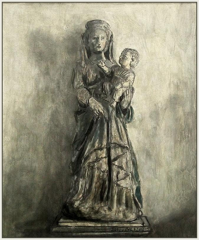Drvena marija i Isus iz Firenze