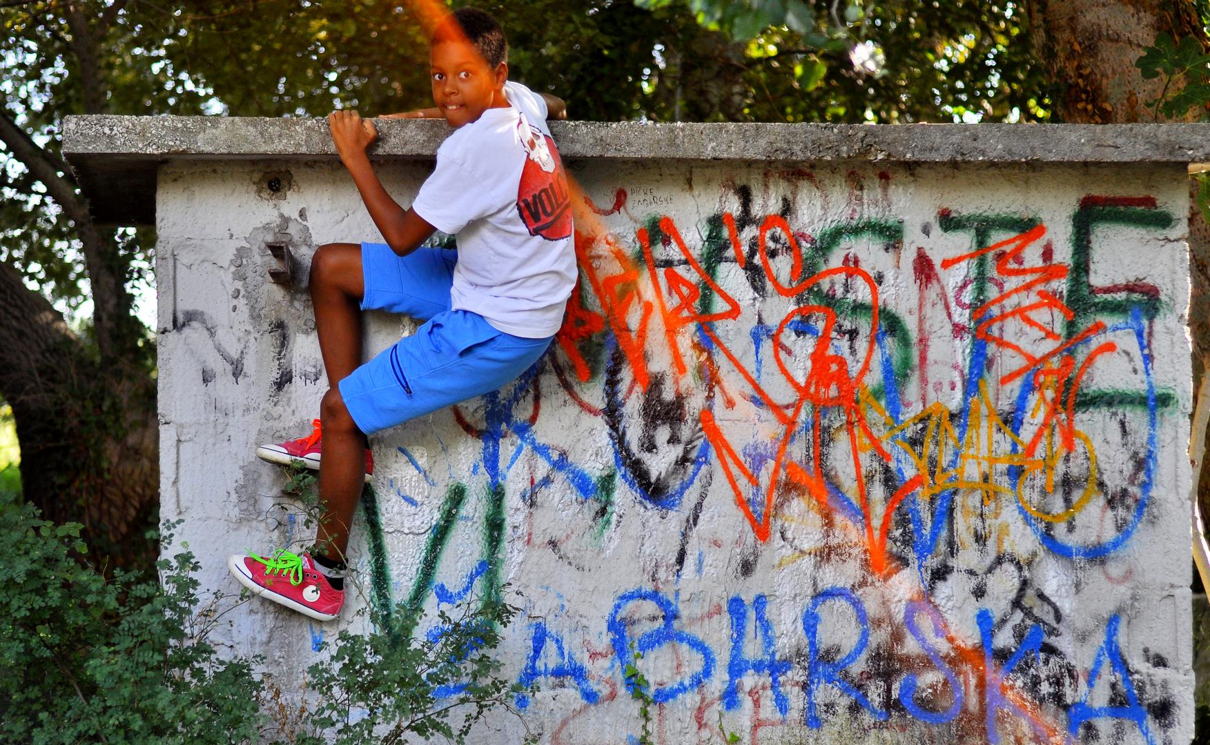 grafiti  i temai