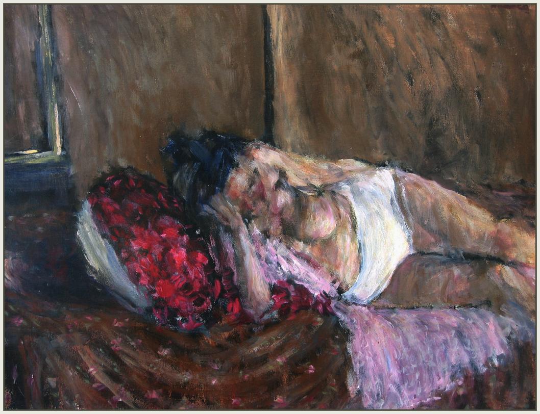 Brigita, ležeći akt s ALU