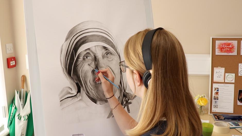 Mother Teresa for Ackworth School