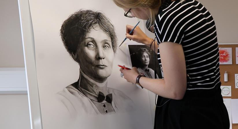 Emmeline Pankhurst for Ackworth School