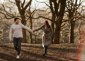 Caitlin & Henry Engagement Photos in Leeds