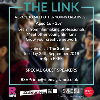 Free Networking Event for 16-25 as Part of Encounters 2018