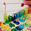 Wooden stacking board with fishing rod Baby Birthday Gift Educational Toy