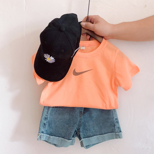 #17028 - Let's Do it! Nike Inspired Top
