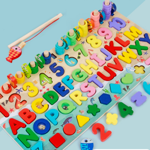 Wooden stacking board Baby Birthday Gift Educational Toy