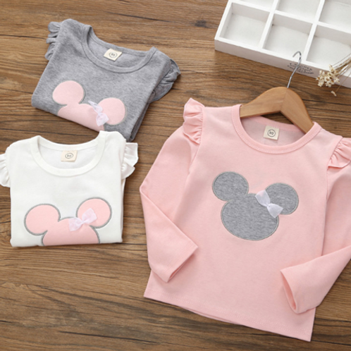 #17005 - Minnie Mouse Long / Short Sleeve