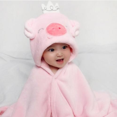 #17014 - Baby Character Towel
