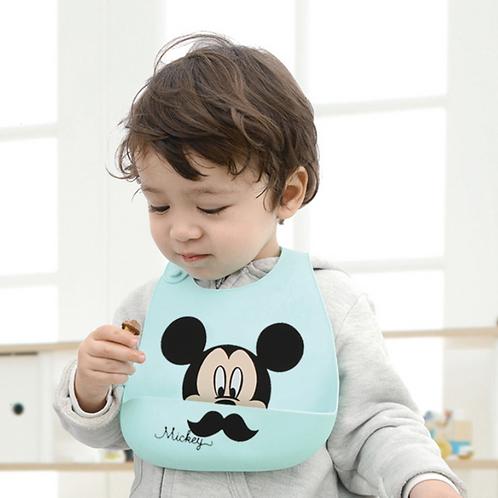 #19013 Disney Character baby bib