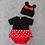 Thumbnail: #17004 - Mickey & Minnie Onesie