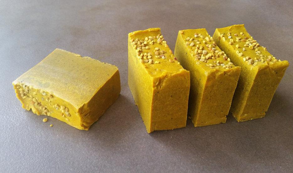 Gold Bar ~ Turmeric & Teatree Soap