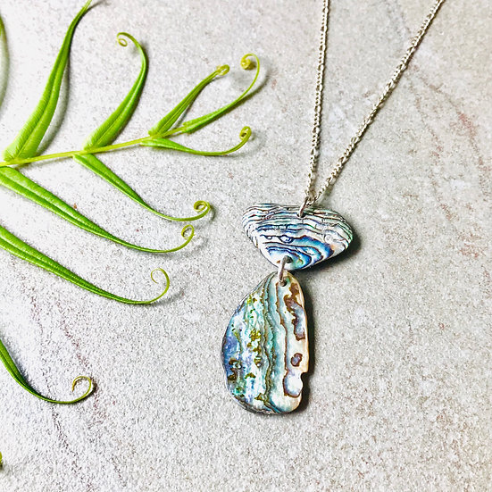 Abalone Latte Necklace