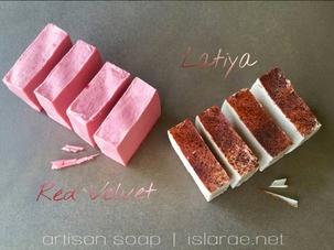 Just Desserts Soap Line & islaRae Soap Hearts