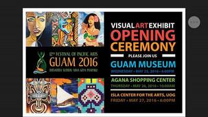 islaRae at Guam Museum, FestPac 2016