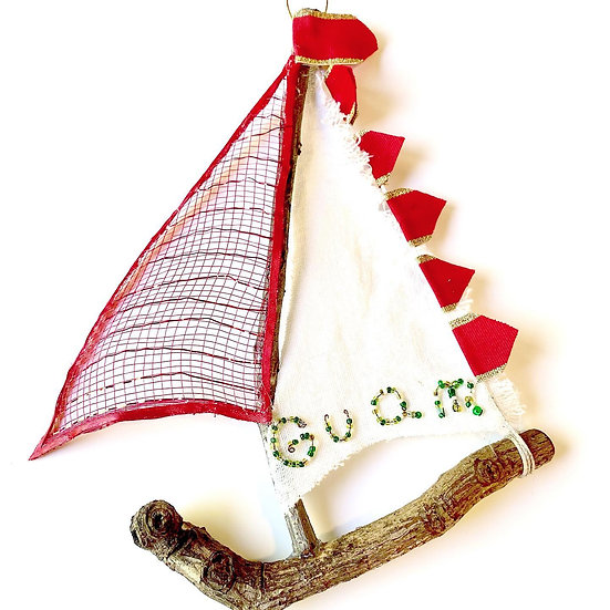 Sail Boat Ornament