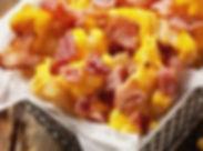frites maison cheddar fondu et lardons
