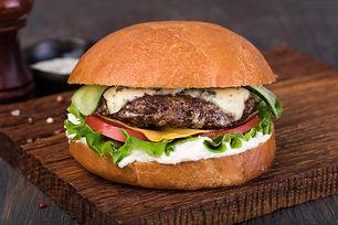 burger: bleu jack