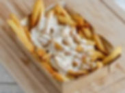 frites maisn sauce fromagere