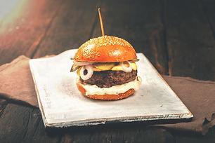 burger: Vintage burger