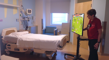 Interactive Projection USA, custom, Patient Care, Physical Therapy