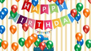 Floating Birthday Balloons