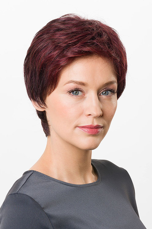AVA MONO SF - Monofilament + hand-tied Silicone on temples and neck