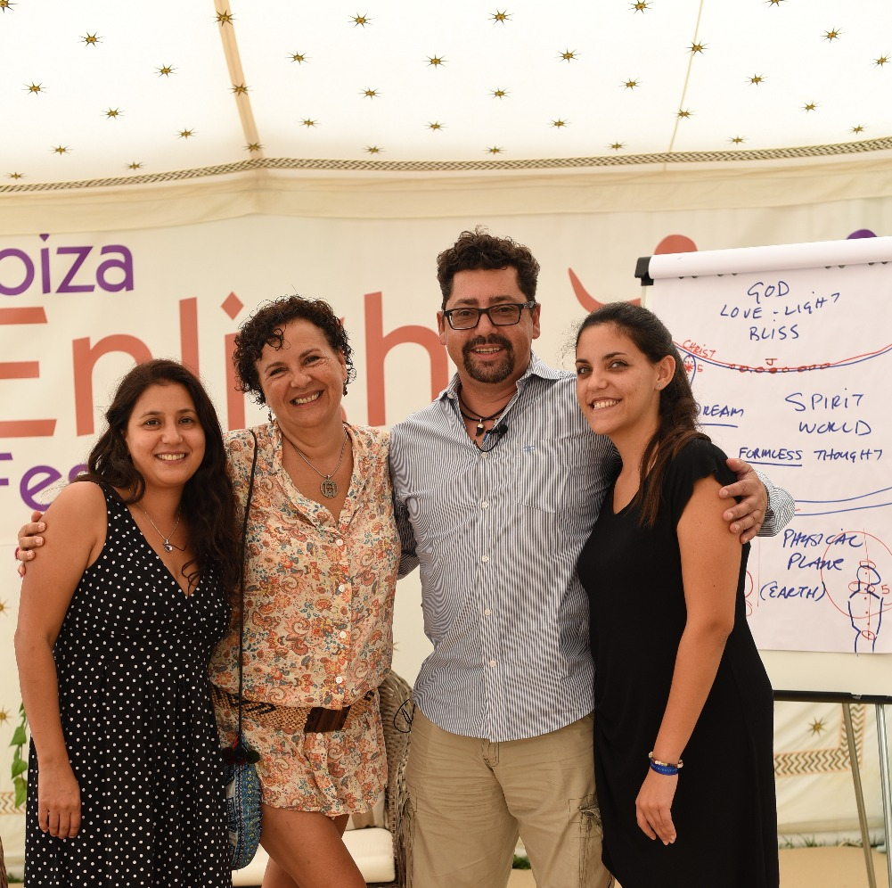 Ana Caro, Carolina, Luis, Angela2015