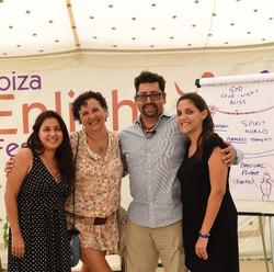 Ana Caro, Carolina, Luis, Angela2015