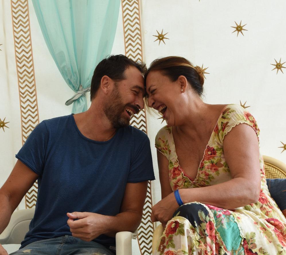 Grafi & Rocio Palacios