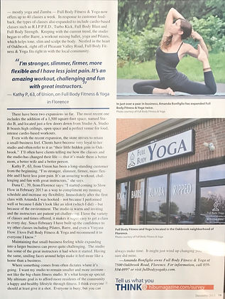 Full Body Fitness & Yoga, Kentucky