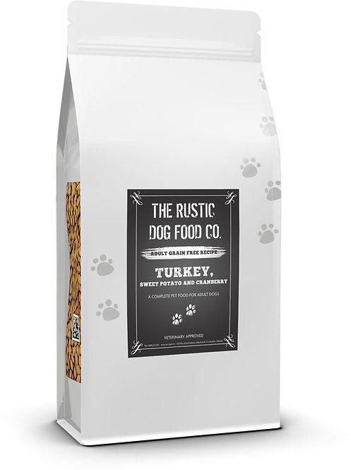 Rustic Turkey, Sweet Potato & Cranberry 12KG