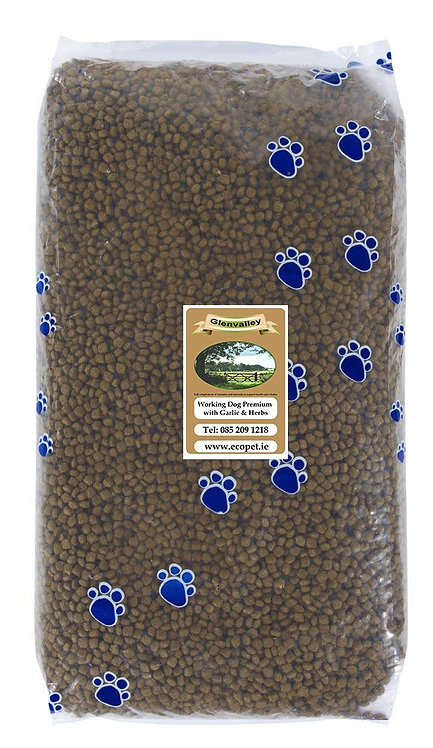 Glenvalley Working Dog with Garlic and Herb 15KG