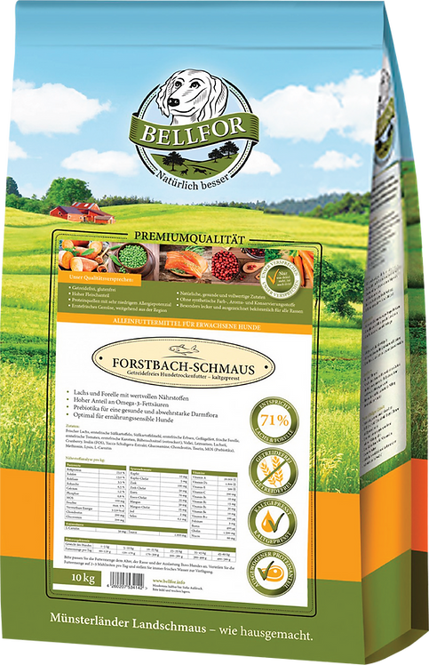 Bellfor's Cold-Pressed Wild Salmon and Brook Trout