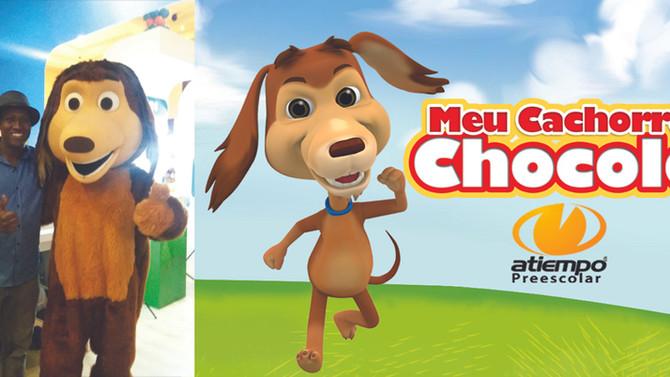 Mi perro Chocolo inaugura canal Youtube en portugués: Meu Cachorro Chocolo