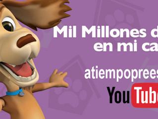 El canal del Perro Chocolo supera las mil millones de vistas en youtube.
