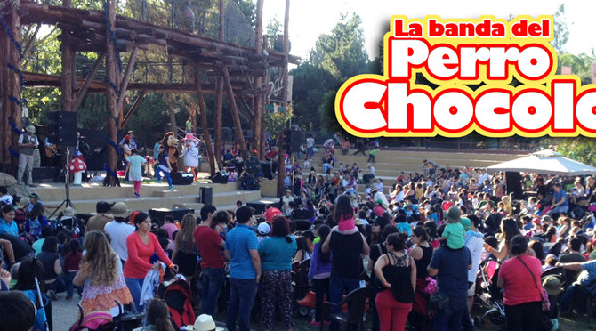 La Banda del Perro Chocolo hizo su debut en el Buin Zoo