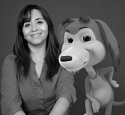 Elizabeth Carmona Castillo la chilena creadora del Perro Chocolo