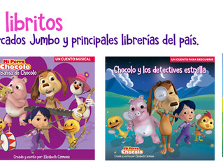 Chocolo estrena dos nuevos libritos