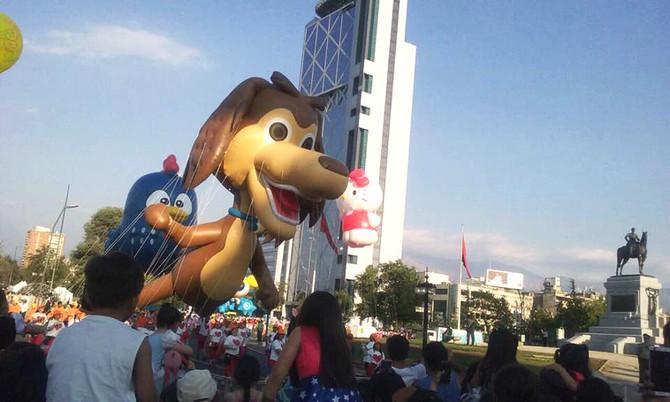 Chocolo es parte del Paris Parade 2016