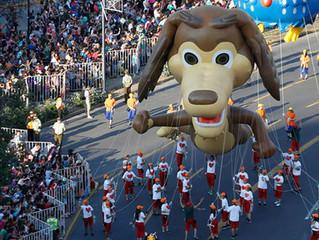 El Perro Chocolo en el Paris Parade 2016