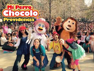 Exitoso Show del Perro Chocolo en FAN CHILE 2016