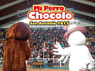 La banda del perro Chocolo en San Antonio