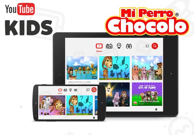 Perro Chocolo llega a YOUTUBE KIDS (España)