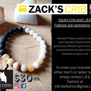 poster for LBE Fashions bracelets