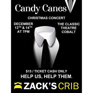 Cocktails & Candy Canes poster