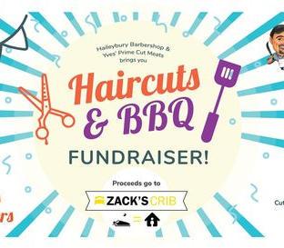 Haircuts & BBQ poster